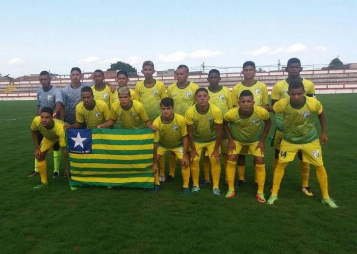 Estaduais Sub-20: seleção piauiense vence Paraíba por 3x2