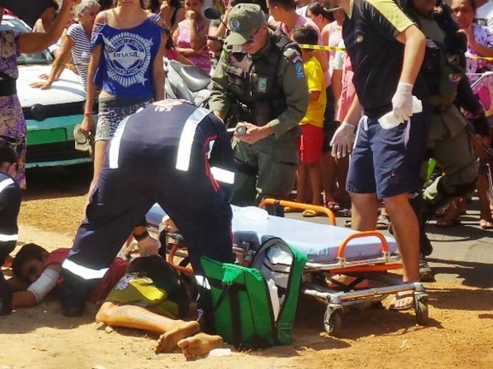 Jovem é morto esfaqueado e outro é atingido por um tiro em Parnaíba