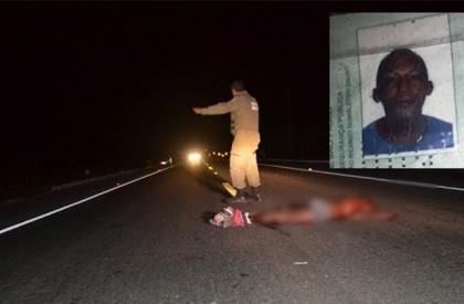 Pedestre morre após ser atropelado em Parnaíba