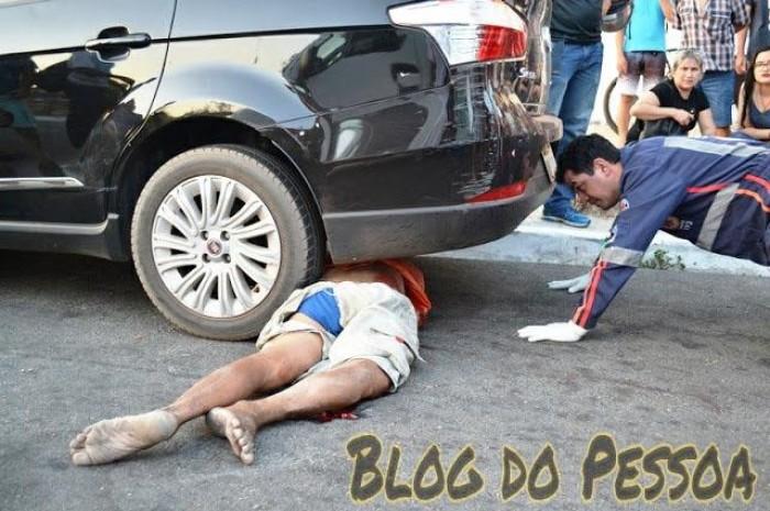 Pedestre morre após ser atropelado por carro em Parnaíba