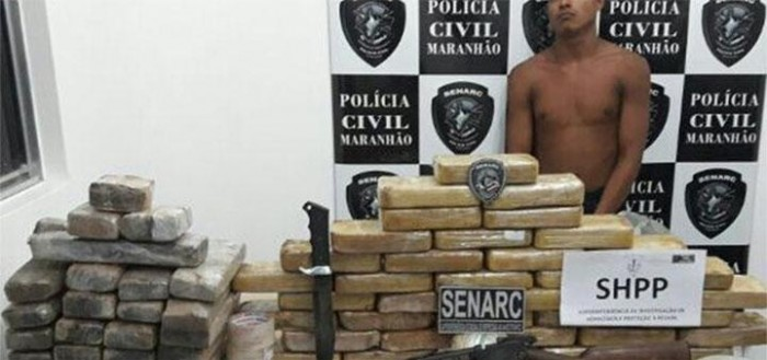Polícia apreende 70 kg de drogas na zona rural de Timon