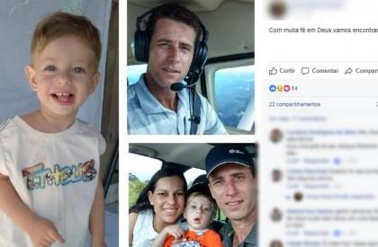 Aeronave com família desaparece no MT e FAB realiza buscas