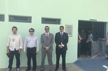 MP realiza inspeção e encontra problemas no prédio da Penitenciária de Campo Maior