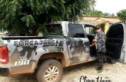 Preso tenta agredir comandante da Polícia Militar de União
