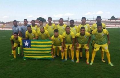 Seleção piauiense encerra participação na Copa de Seleções Sub-20