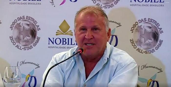 Zico garante segurança do Maracanã para Jogo das Estrelas