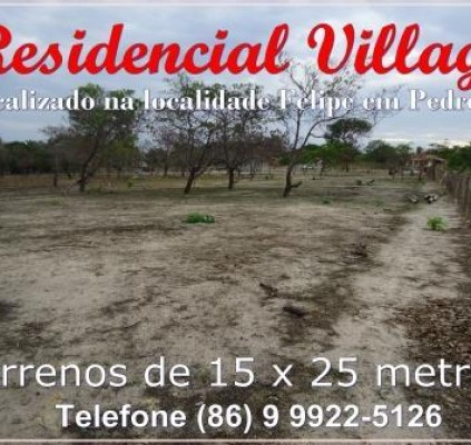 Adquira lotes de terra na localidade Felipe...
