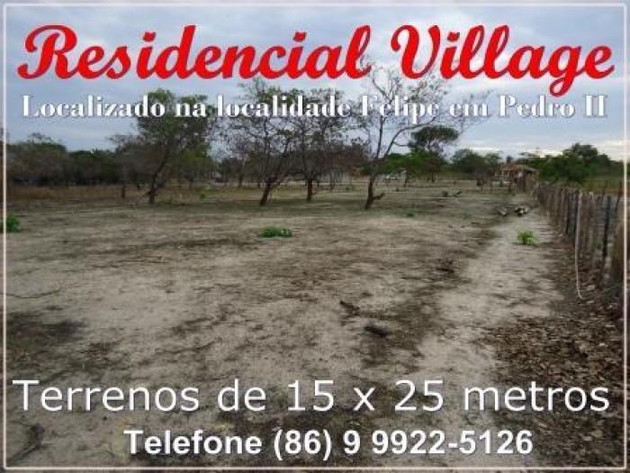 Adquira lotes de terra na localidade Felipe em Pedro II