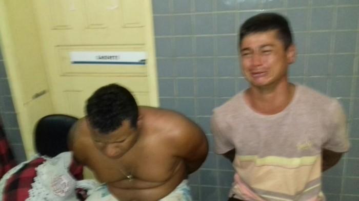 Dupla é presa após fazer arrastão em José de Freitas