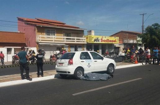 Idoso morre após ser atropelado por carro em Parnaíba
