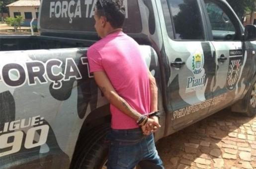 Irmão de vereador é preso com drogas em Angical do Piauí