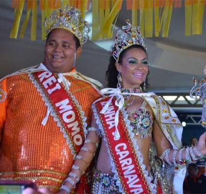 Rei Momo e Rainha do Carnaval serão...