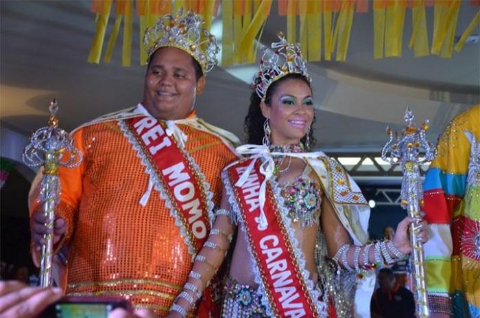 Rei Momo e Rainha do Carnaval serão coroados neste sábado (20)