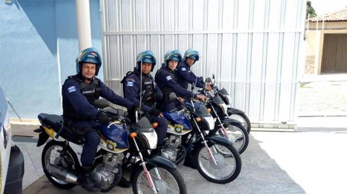 THE: Guarda Municipal inicia patrulhamento com motocicletas
