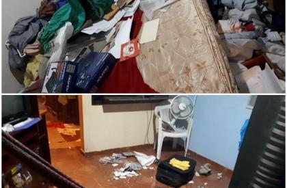 Bandidos armados invadem casa e fazem família refém em...
