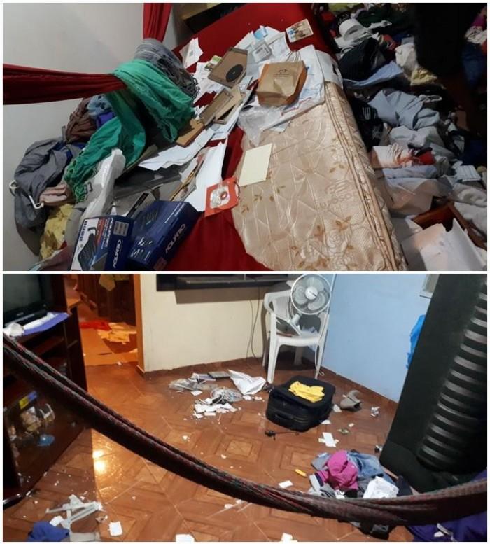 Bandidos armados invadem casa e fazem família refém em Altos