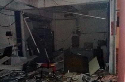 Bandidos explodem agência do Bradesco em Castelo do Piauí