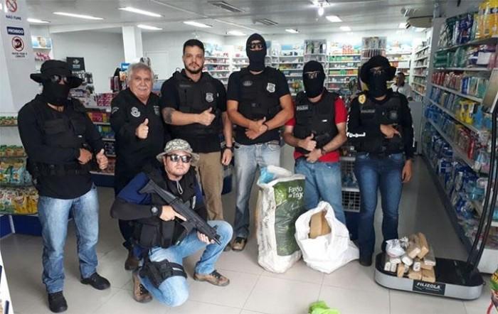 Casal é preso com 100kg de drogas em Parnaíba