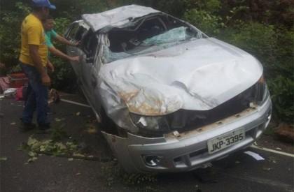 Duas mulheres morrem e criança fica ferida em acidente na PI-140