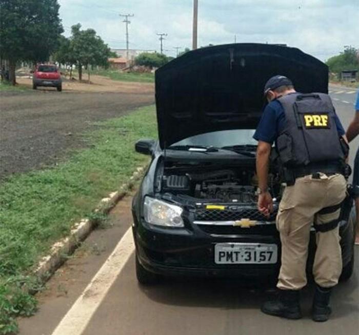 Homem é preso usando documentação de veículo falsificada em Picos