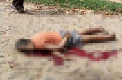 Mulher morre após ser atropelada por caminhão