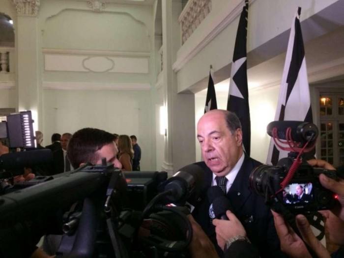 Presidente do Botafogo reafirma veto ao Fla por estádio