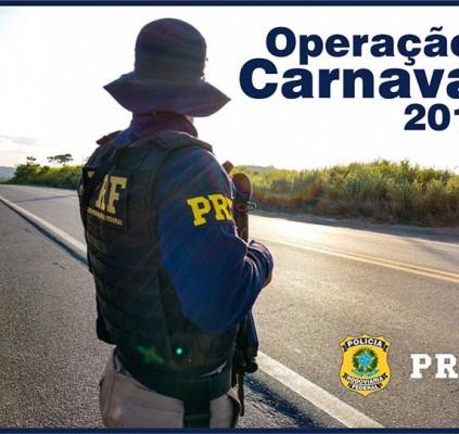 PRF inicia Operação Carnaval 2018 nesta sexta...