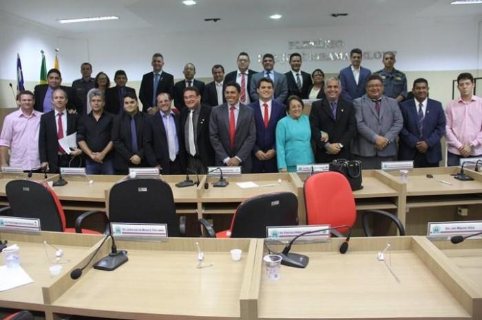 Vereadores abrem ano legislativo na Câmara de Timon