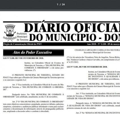 Prefeitura de Teresina convoca aprovados em concurso...