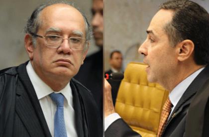 Barroso e Gilmar Mendes discutem e sessão é suspensa no STF