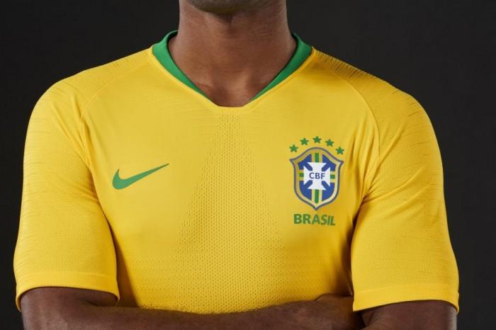 CBF lança uniforme da Seleção Brasileira para a Copa 2018