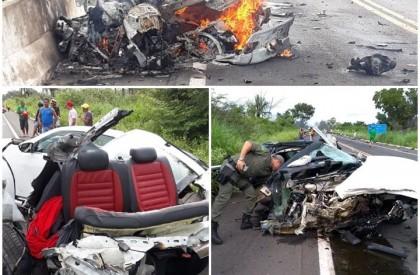 Duas pessoas morrem em acidente entre Altos e Campo Maior