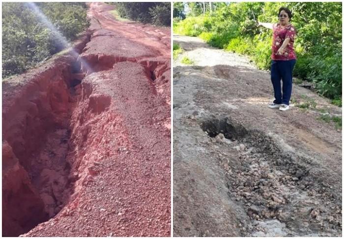 Estradas de Timon continuam sem reparo e vereadora cobra providências