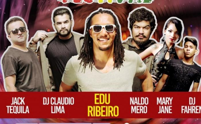 Festival trará Edu Ribeiro e bandas de pop reggae de Teresina