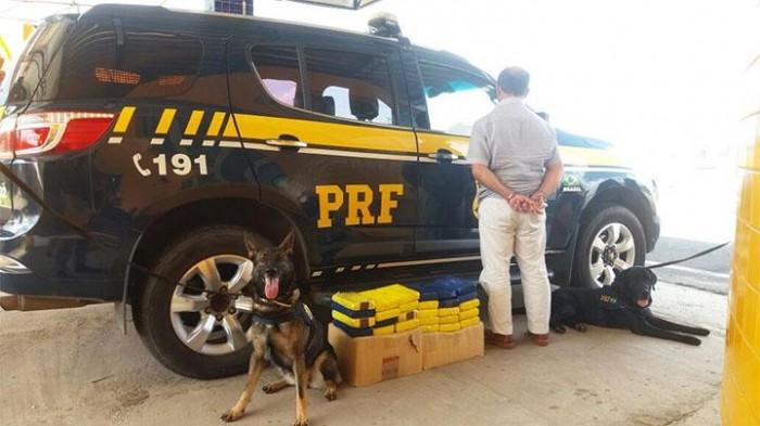 Homem é preso com quase 30 kg de cocaína em Piripiri