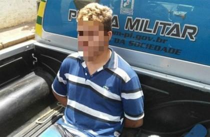 Menor é apreendido após golpear padrasto com facão em Campo Maior