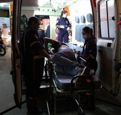 Motociclista é baleado durante tentativa de assalto...