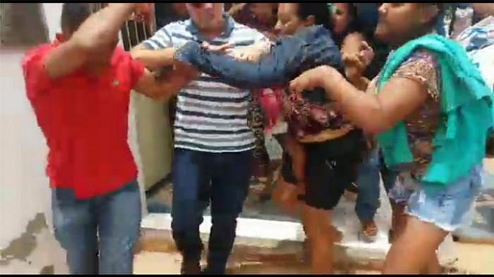 Mulheres tentam linchar acusado de estupro em José de Freitas