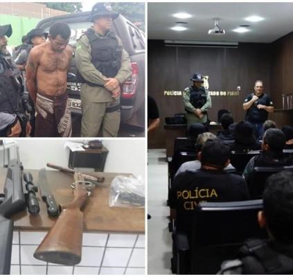 Operação prende 11 acusados de homicídios e...