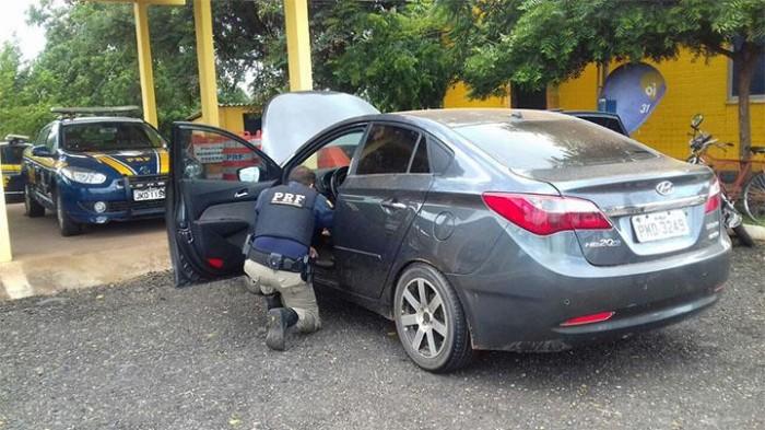 Polícia prende homem e recupera veículo roubado em Picos