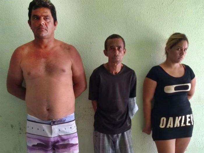 Polícia prende três pessoas acusadas de tráfico de drogas em Parnaíba