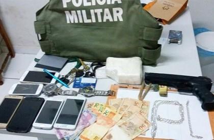 Quatro traficantes são presos com meio quilo de cocaína em Gilbués