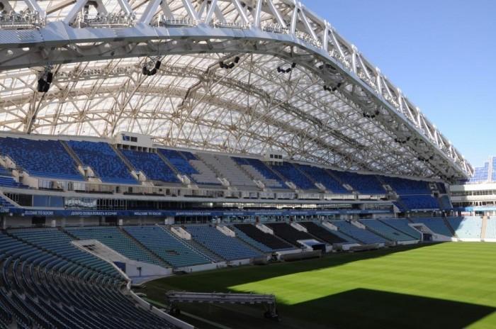 Rússia já tem 6 das 12 arenas da copa prontas para competição