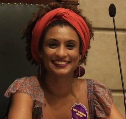 Vereadora Marielle Franco, do Rio de Janeiro,...