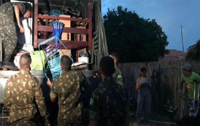 45 famílias já foram retiradas das áreas de risco da Barragem do Bezerro