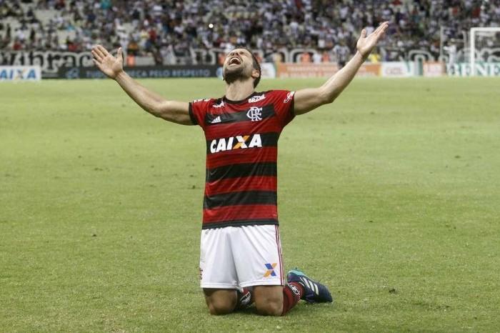 Gols de Vinícius Jr e Diego dão vitória do Fla sobre o Ceará