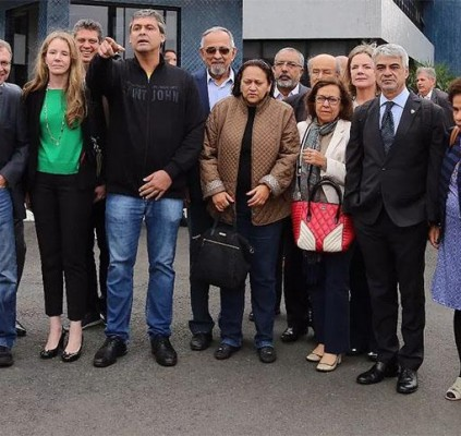 Juiza nega visitas de Deputados, Dilma Rousseff...