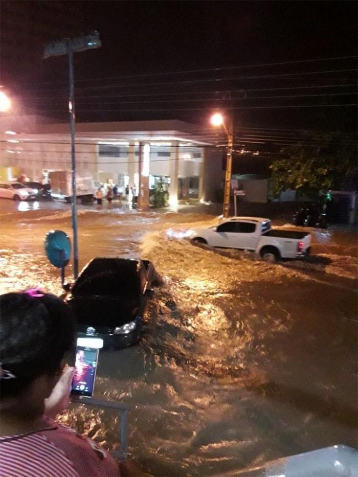 Nove cidades do Piauí correm risco de inundação