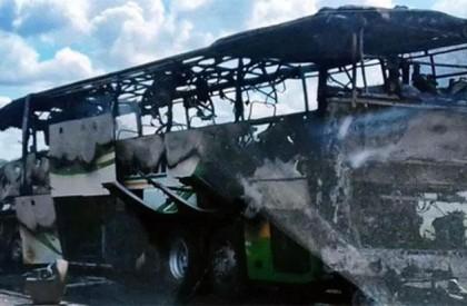 Ônibus incendeia em trecho da BR-343 entre Piripiri e...