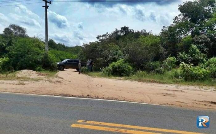Polícia encontra corpo próximo a rodovia em Pedro II